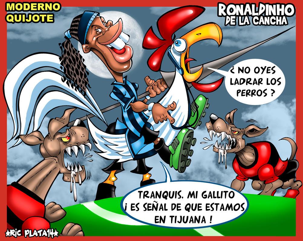 RONALDINHO DE LA CANCHA by ricplata