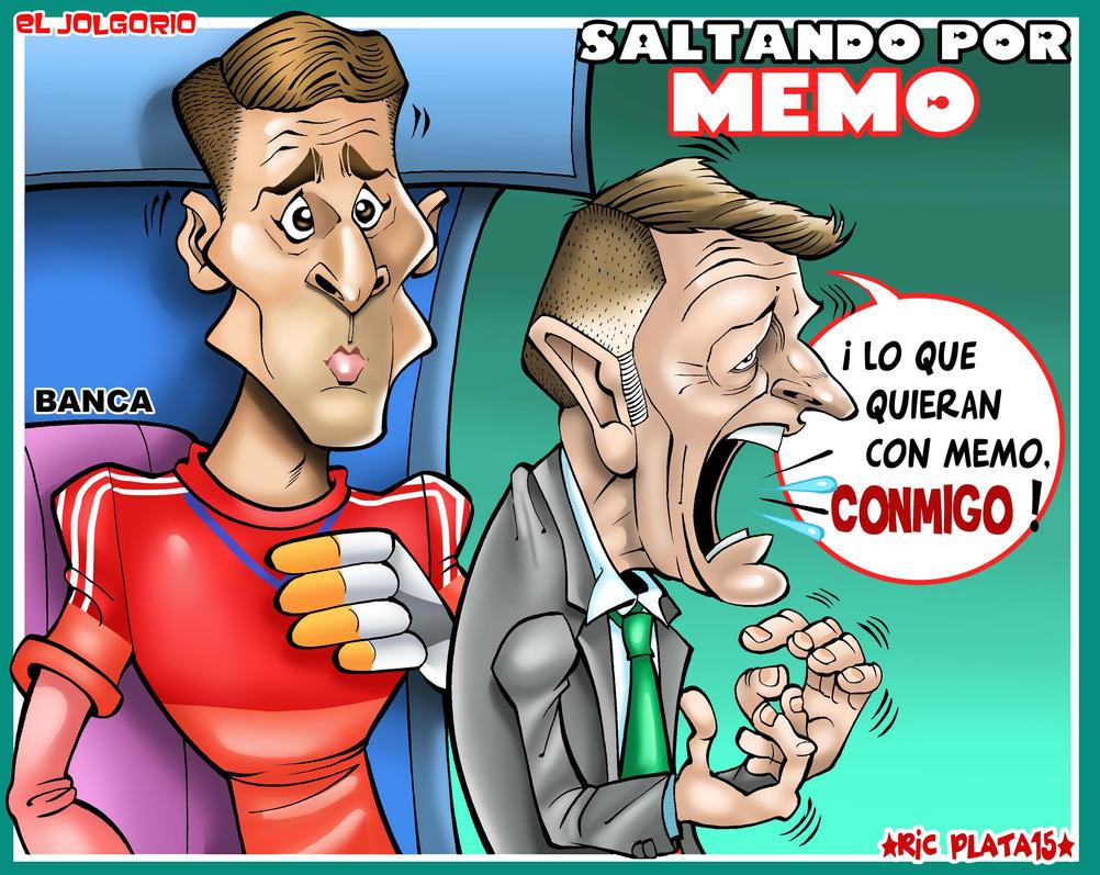 SALTANDO POR MEMO by ricplata