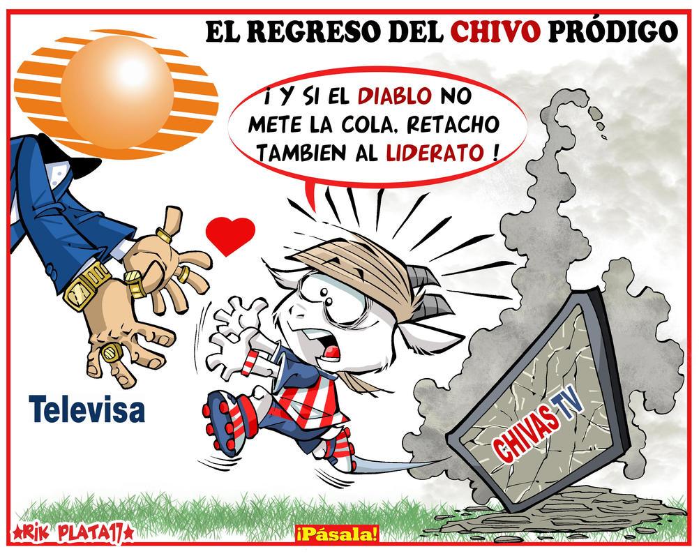 CHIVA PRODIGA by ricplata