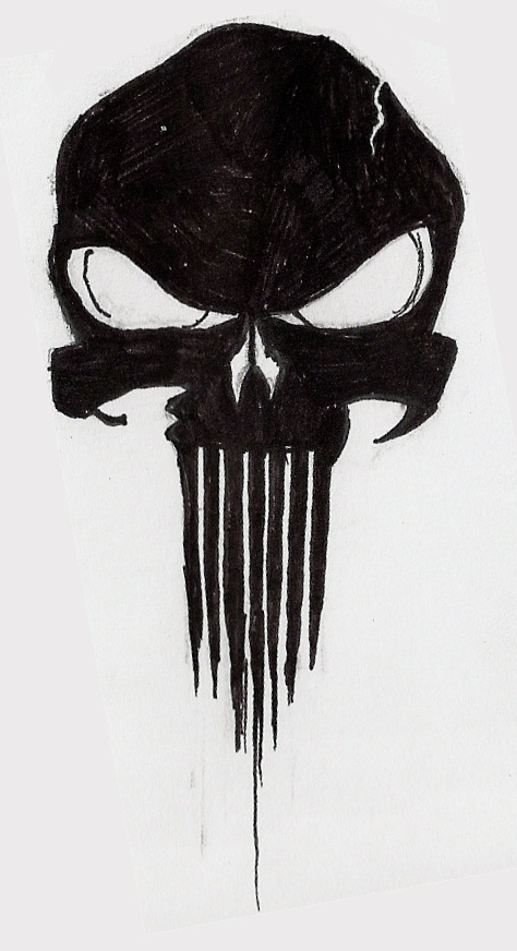 The Punisher Skull by ~Frozen-Wrath on deviantART