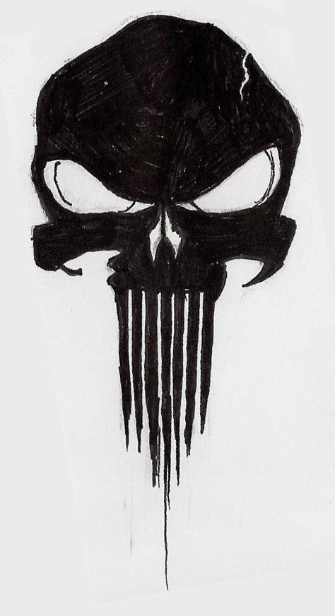 The Punisher Skull by Frozen-Wrath on DeviantArt