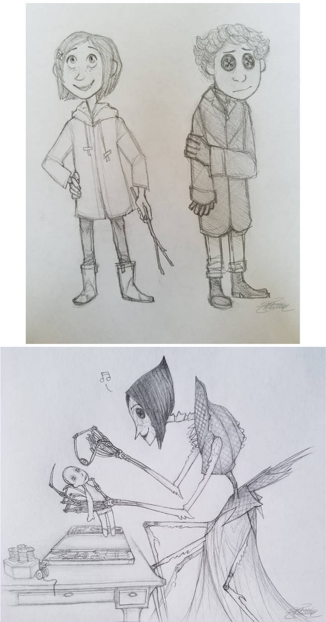 Coraline Sketches