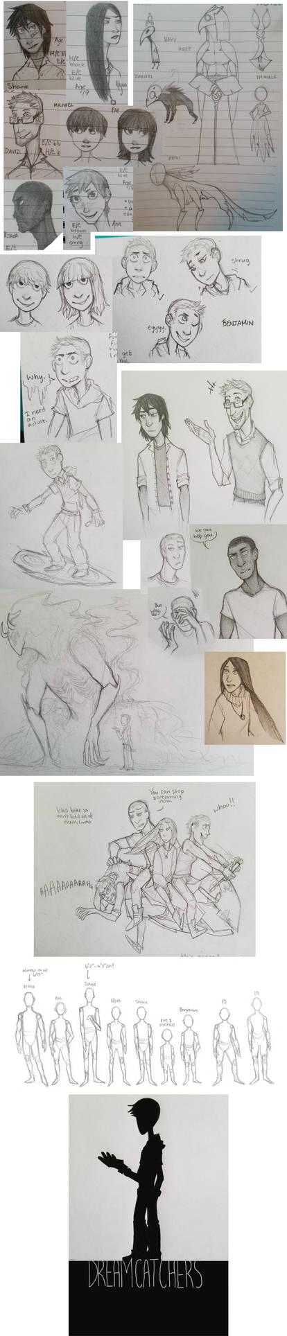 [Dreamcatchers] sketchdump