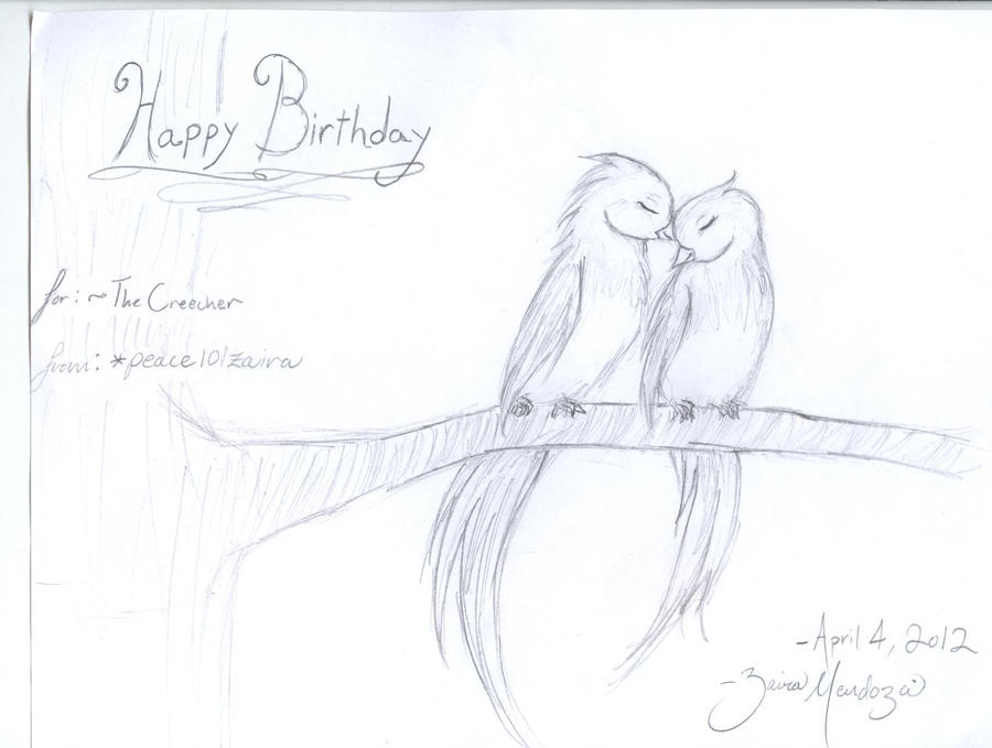 Images Love Birds Drawings In Pencil