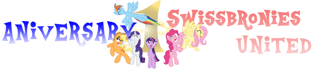 SwissBronies United aniversary logo by IntetX