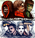 The Outworld bad boys and the Kombat gang