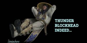 Thunder blockhead