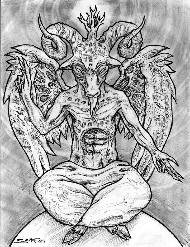 free satanic coloring pages - photo#33