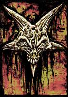 Baphomet Skull by themeatgrinder