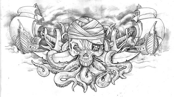 Jolly Roger by themeatgrinder