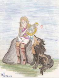 Zelda's song by Ladybrenes