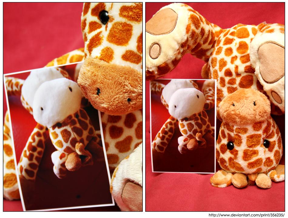 Giraffe See, Giraffe Do by Doubtful-Della