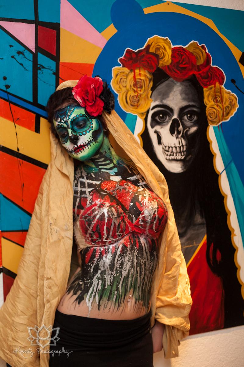 Dia de los muertos by doubtful della on deviantart for Dia de los muertos mural