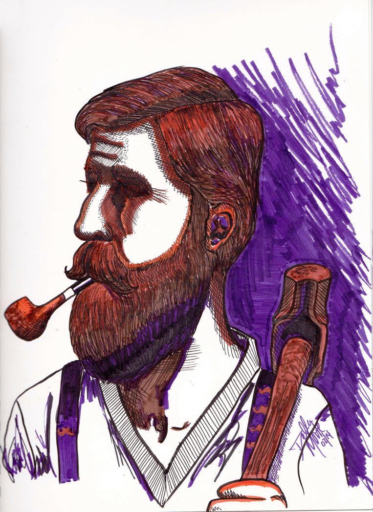 Zane The Rappist Gets Drawn by Doubtful-Della