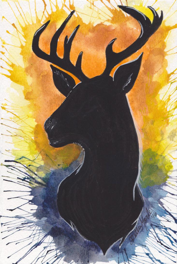 Deer Silhouette by Doubtful-Della