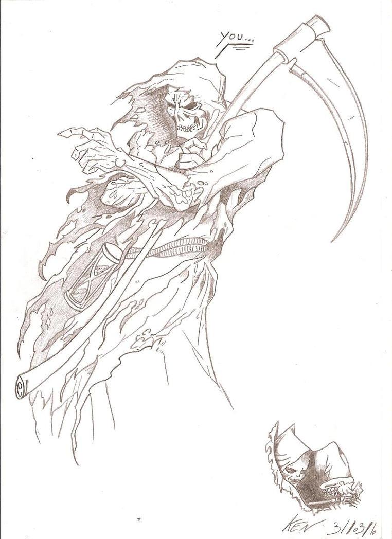Uncategorized Drawing Of Grim Reaper grim reaper by redkojimax on deviantart redkojimax