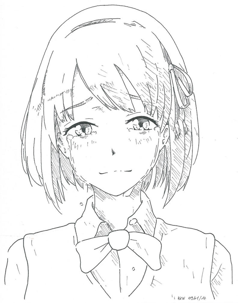 Mitsuha Miyamizu By Redkojimax On DeviantArt