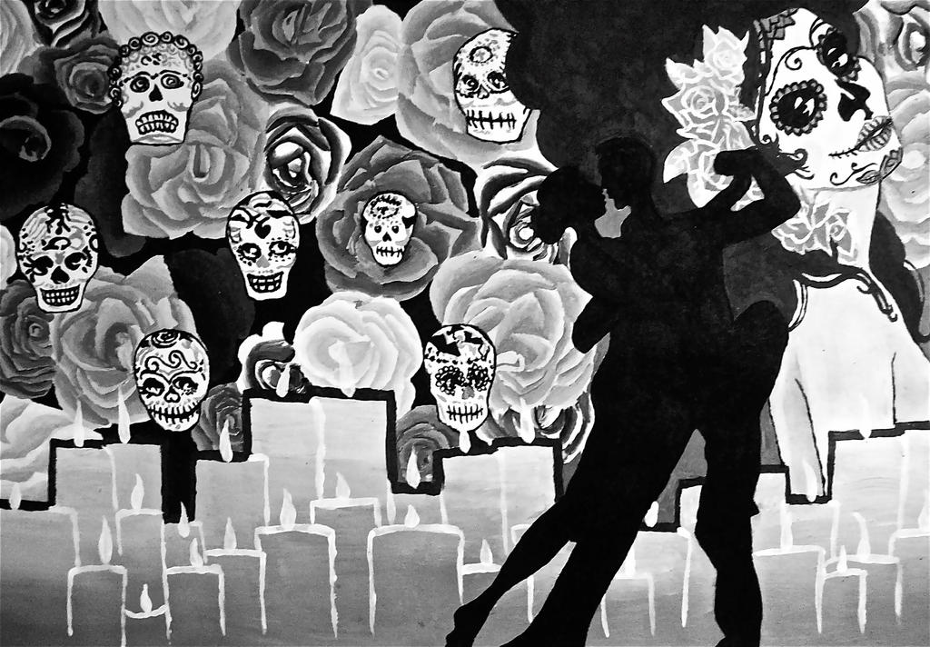 Day of the Dead Dance by Chell...