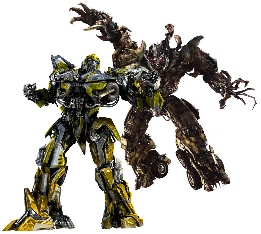 sentinel vs megatron by minibot-gears on DeviantArt Transformers 3 Bumblebee Vs Megatron