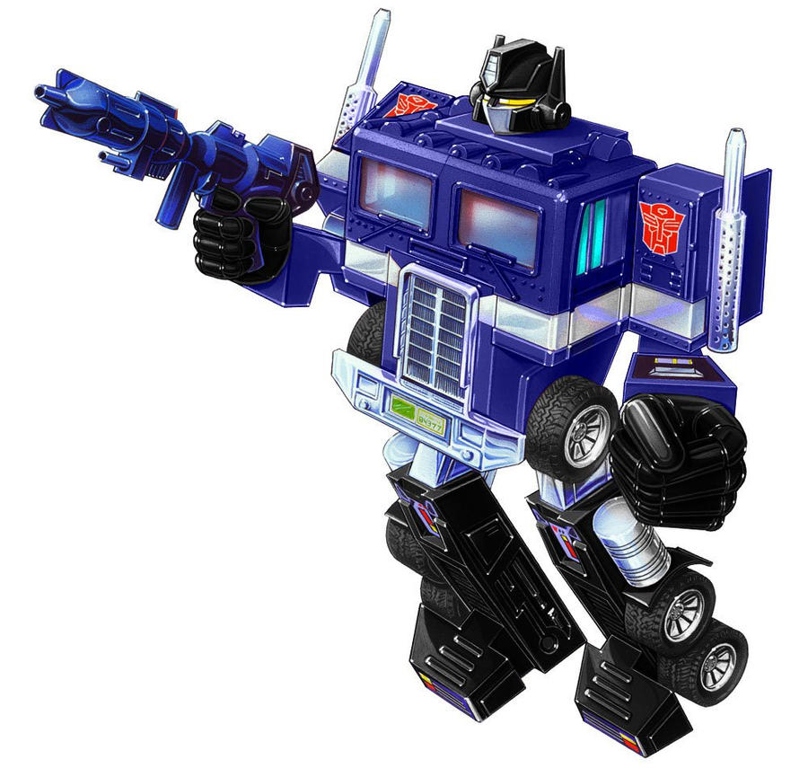 diaclone convoy by minibot-gears on DeviantArt