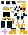 papercraft Furao