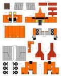 papercraft WreckGAr