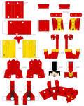 Papercraft Iron man