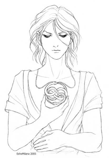 neverending story coloring pages | Atreyu - Neverending Story by EsheMilana on DeviantArt