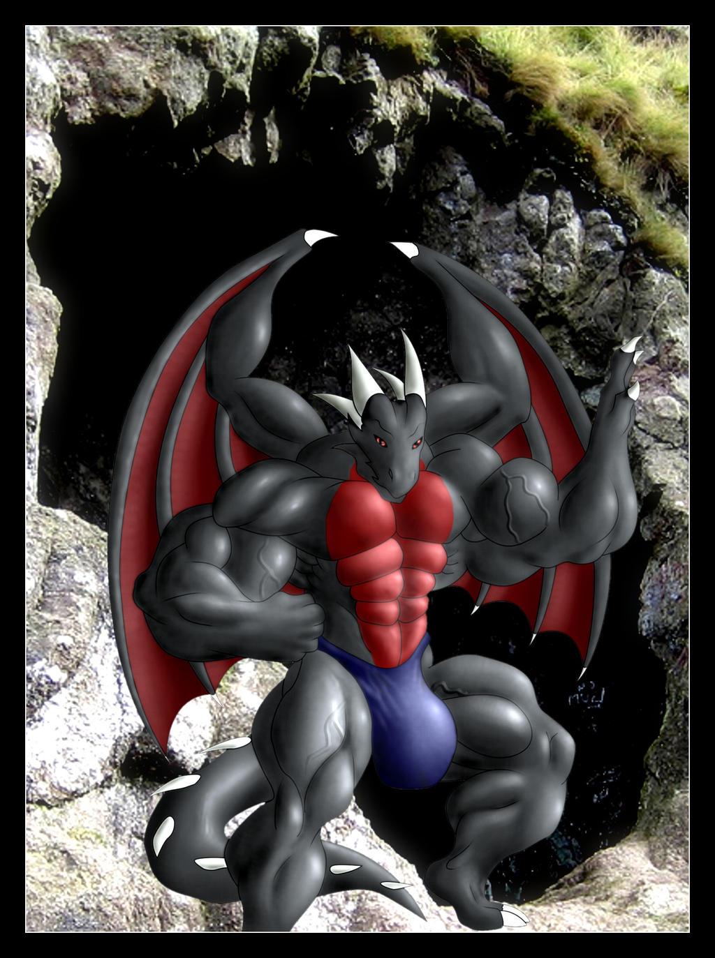 Big dragon by Berni8