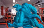 Exvemon in the GYM