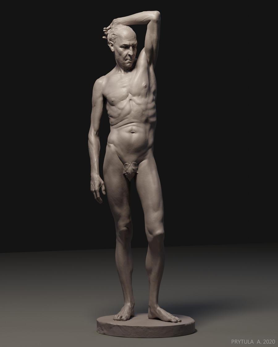 Old Man - Study Sculpt
