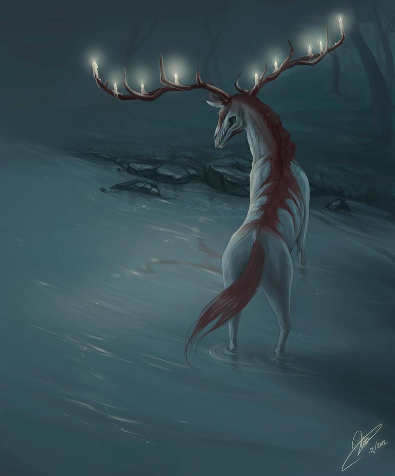 Candeliere Deer by Rosaka-Origo
