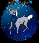 Christmas Deer, oh Christmas Deer by Rosakaz