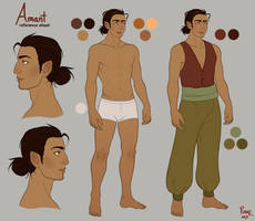 Amant - ref sheet