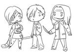 Silent Hill 4 The Room chibis