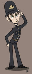 Constable George Crabtree by GlamourKat