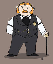Inspector Thomas Brackenreid by GlamourKat