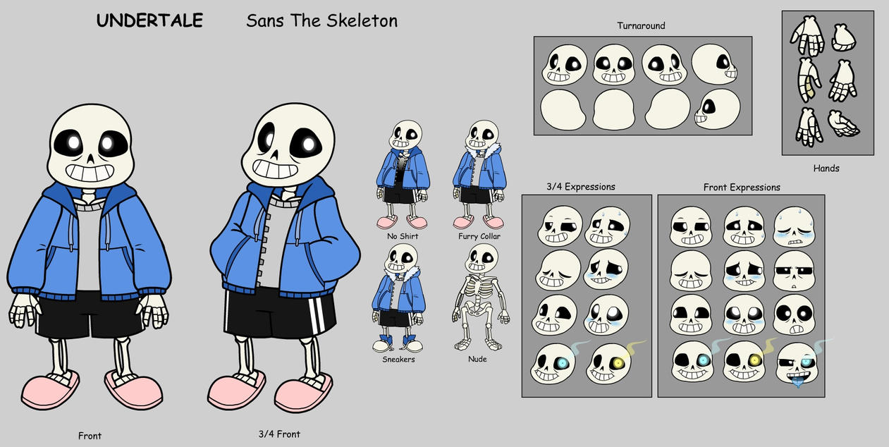 Sans Animation Build (Flash 8) by GlamourKat