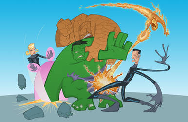 FF hulk by jeanx13