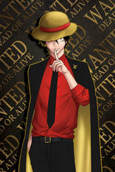 Luffy from One Piece by jeanx13