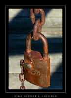 Rusty Lock by TheWizardRod