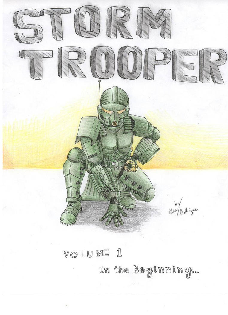 Storm Trooper Vol. 1 by tod309