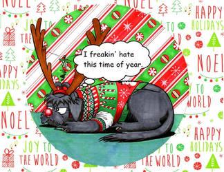 Christmas Kallie by tod309