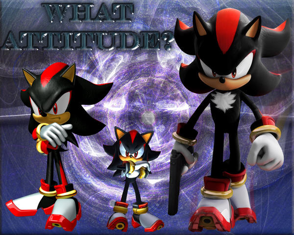 Shadow The Hedgehog What Attitude 1280 x 1024 Wallpaper