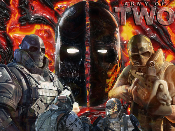 Bonded By Fire Pt 2 Army of Two 1600 x 1200 Wallpaper