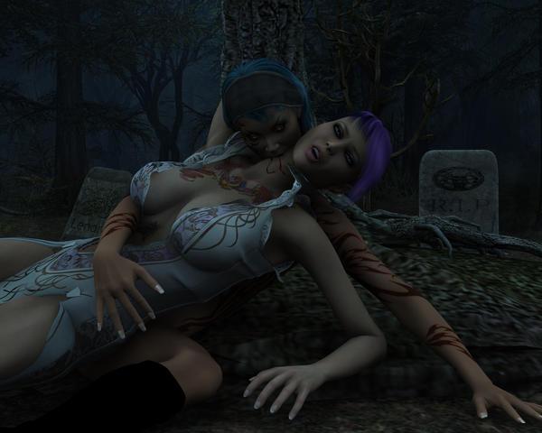 Vampire Lust 1280 x 1024