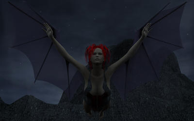 Gothic Angel Flight 1920x1200