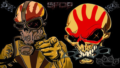 Five Finger Death Punch Awesome 1920 x 1080 Wallpaper