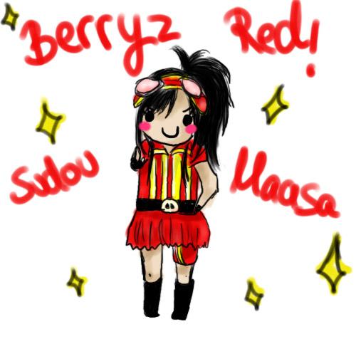 Chibi Sudou Maasa Berryz Red by mmmCockimmm