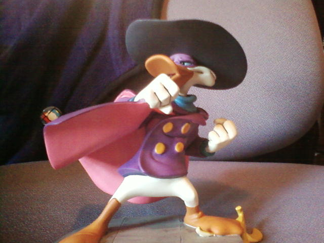 My Darkwing Statue by DarkwingDrake